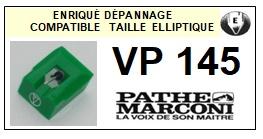 PATHE MARCONI-VP145-POINTES-DE-LECTURE-DIAMANTS-SAPHIRS-COMPATIBLES