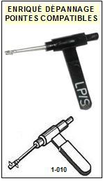 ACOS GP104  Pointe de lecture compatible Saphirs  (stereo/78tr  réversible)