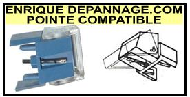 AUDIO DYNAMICS SX5 Pointe de lecture compatible diamant sphérique
