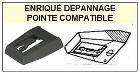 ALBA platine MR2050  Pointe de lecture Compatible diamant sphérique