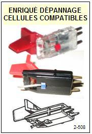 BRANDT platine  CLARVILLE M390     Cellule Compatible saphir sphérique