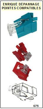 AKAI Platine APM360 AP-M360 Pointe diamant sphérique <small>13-07</small>