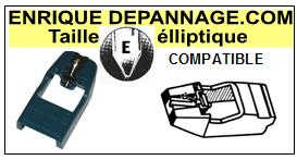 ADC R125  Pointe de lecture compatible diamant Elliptique