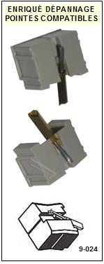 AUDIO TECHNICA AT66.7D   Pointe de lecture compatible Diamant sphérique