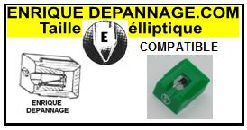 BRANDT  AT3400    Pointe de lecture compatible Diamant Elliptique