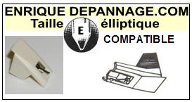 AUDIO TECHNICA AT3472PBK  Pointe de lecture compatible diamant Elliptique