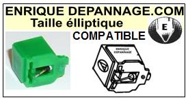 BRANDT AT3600  Pointe de lecture compatible diamant Elliptique