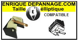 BIC platine SP402  Pointe de lecture compatible diamant elliptique
