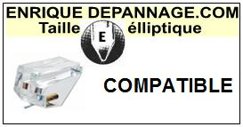 ANAM U25  Pointe de lecture compatible diamant Elliptique
