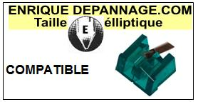 AIWA AN6  Pointe de lecture compatible diamant Elliptique
