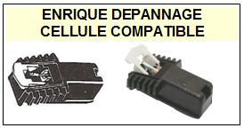 PHILIPS platine GF446  Cellule Compatible diamant sphérique