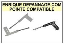 BAZIN platine JUNIOR 1  Pointe de lecture Compatible Saphir sphérique