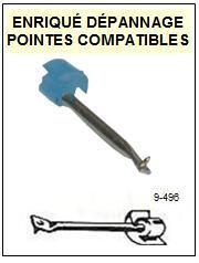 BRANDT platine  CT3322K    Pointe de lecture Compatible Saphir sphérique