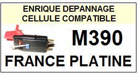 FRANCE PLATINE platine  M390    Cellule Compatible diamant sphérique