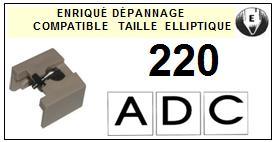 ADC 220  Pointe Diamant Elliptique <br><small>se 2014-01</small>