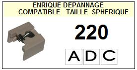 ADC 220  Pointe Diamant sphérique <BR><small>se 2014-01</small>