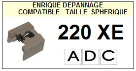 ADC 220XE  Pointe Diamant sphérique <BR><small>se 2014-01</small>