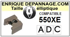 ADC<br> 550XE  Pointe Diamant Elliptique <br><small>a 2015-05</small>