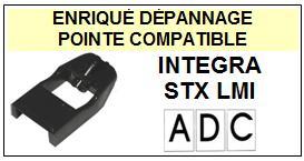ADC  INTEGRA STXLMI  STX LMI  Pointe de lecture compatible Diamant sphérique