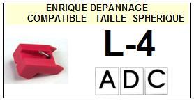ADC L4 L-4 Pointe Diamant sphérique <small>13-08</small>