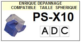 ADC-PSX10 PS-X10-POINTES-DE-LECTURE-DIAMANTS-SAPHIRS-COMPATIBLES