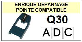 ADC  Q30    Pointe de lecture compatible Diamant sphérique