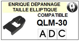 ADC QLM30 QLM-30 Pointe Diamant Elliptique <small>13-11</small>