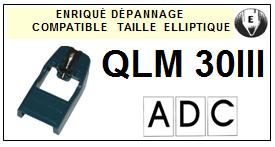 ADC<br> QLM30III QLM30 III Pointe Diamant Elliptique <br><small>se 2014-11</small>