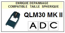 ADC-QLM30MKII QLM30 MKII-POINTES-DE-LECTURE-DIAMANTS-SAPHIRS-COMPATIBLES
