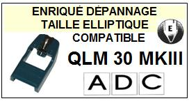 ADC<BR> QLM30MKIII QLM30 MK3 Pointe (stylus)  Elliptique <br><small>se 2015-05</small>