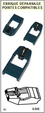ADC  QLM32MKIIIE  QLM-32MKIIIE  Pointe de lecture compatible Diamant Elliptique