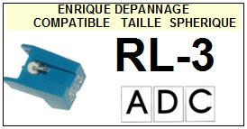ADC RL3 RL-3 Pointe Diamant sphérique <small>13-08</small>