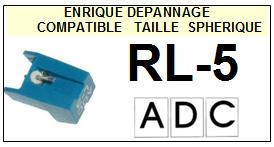 ADC RL5 RL-5 Pointe Diamant sphérique <small>13-08</small>