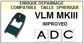ADC VLMMKIII IMPROVED VLM MKIII Pointe Diamant sphérique <BR><small>se 2014-01</small>
