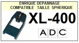 ADC<br> XL400 XL-400 Pointe Diamant sphérique <BR><small>se 2015-01</small>