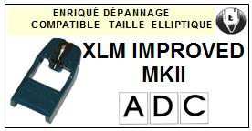 ADC-XLM IMPROVED MKII-POINTES-DE-LECTURE-DIAMANTS-SAPHIRS-COMPATIBLES