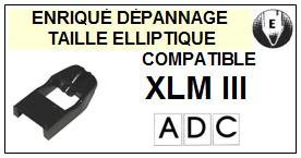 ADC<br> XLMIII XLM III Pointe Diamant Elliptique <br><small>a 2014-11</small>