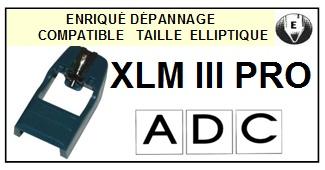 ADC-XLMIII PRO-POINTES-DE-LECTURE-DIAMANTS-SAPHIRS-COMPATIBLES