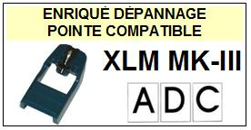 ADC-XLMMKIII XLM MKIII-POINTES-DE-LECTURE-DIAMANTS-SAPHIRS-COMPATIBLES