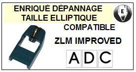 ADC ZLM IMPROVED <BR>Pointe Diamant Elliptique (stylus)<small> 2015-11</small>