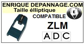 ADC<br> ZLM Pointe (stylus) Diamant Elliptique <br><small>se 2015-06</small>
