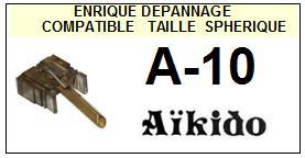 AIKIDO-A10  A-10-POINTES-DE-LECTURE-DIAMANTS-SAPHIRS-COMPATIBLES