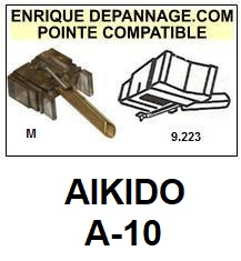 AIKIDO Platine A10 A-10 Pointe diamant sphérique <BR><small>sc 2014-08</small>