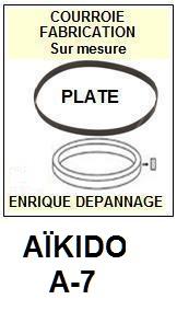 AIKIDO-A7 A-7-COURROIES-ET-KITS-COURROIES-COMPATIBLES