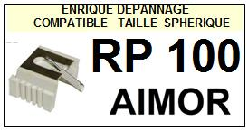 AIMOR-RP100  RP-100-POINTES-DE-LECTURE-DIAMANTS-SAPHIRS-COMPATIBLES