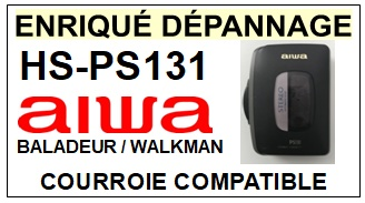 AIWA-HSPS131 HS-PS131-COURROIES-ET-KITS-COURROIES-COMPATIBLES