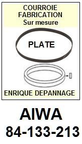 FICHE-DE-VENTE-COURROIES-COMPATIBLES-AIWA-84133213 84-133-213