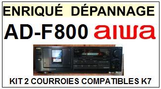 AIWA-ADF800 AD-F800-COURROIES-COMPATIBLES