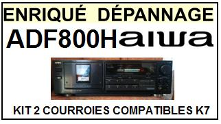 AIWA-ADF800H AD-F800H-COURROIES-ET-KITS-COURROIES-COMPATIBLES