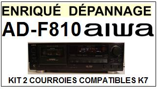 AIWA-ADF810 AD-F810-COURROIES-ET-KITS-COURROIES-COMPATIBLES